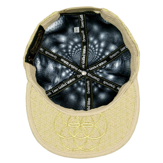 Laser Guided Visions All Gold Snapback Hat