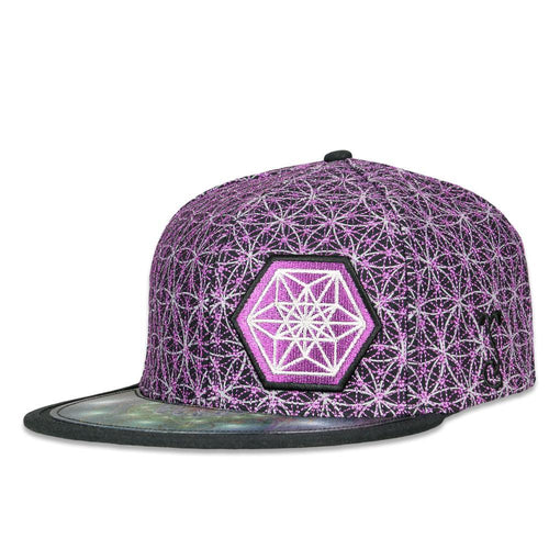Laser Guided Visions Purple Snapback Hat