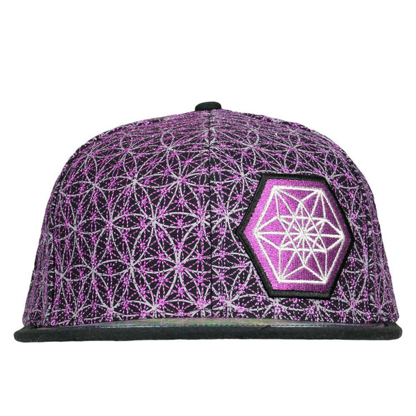 Laser Guided Visions 2020 Purple Snapback Hat