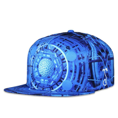 Light Wizard 6D Third Eye Snapback Hat
