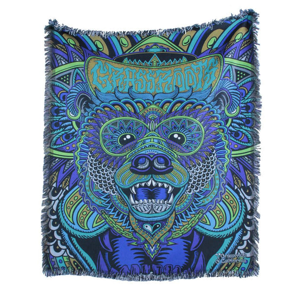 Chris Dyer Bear Deep Sea Blanket - Grassroots California