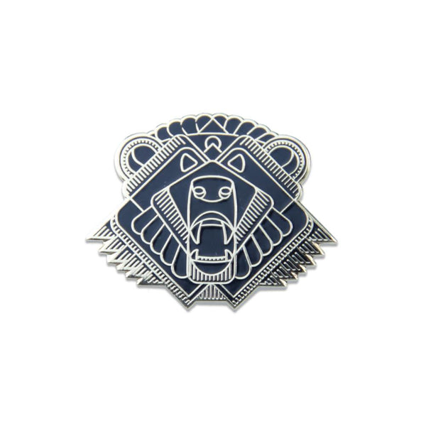 Anniversary Bear Gold Pin - Grassroots California