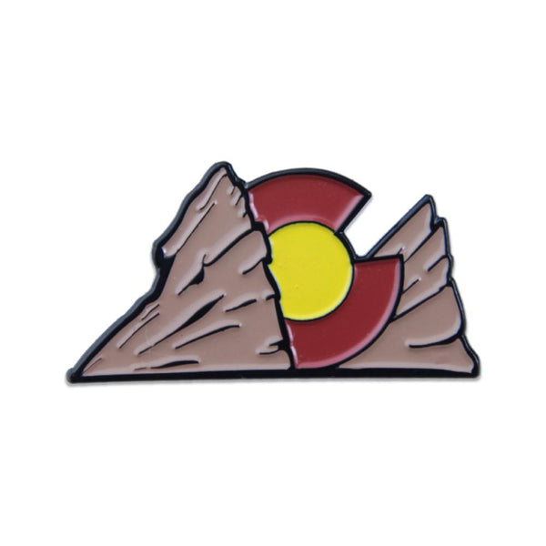 Colorado Red Rocks Pin - Grassroots California