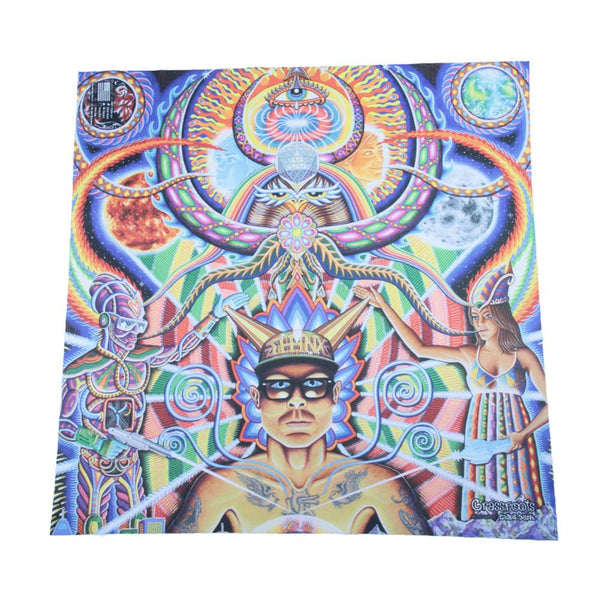 Phunkshun X GRC X Chris Dyer Moment of Truth Bandana - Grassroots California - 1