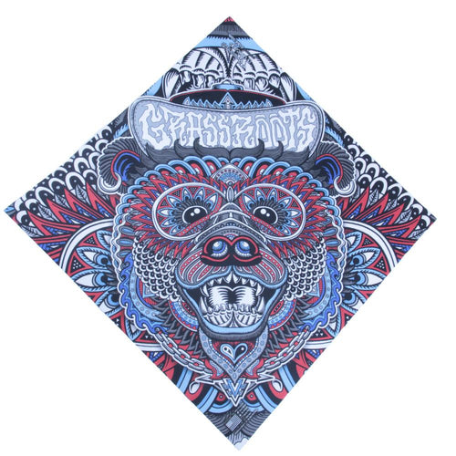 Phunkshun X GRC X Chris Dyer Chi Bear Bandana - Grassroots California - 1
