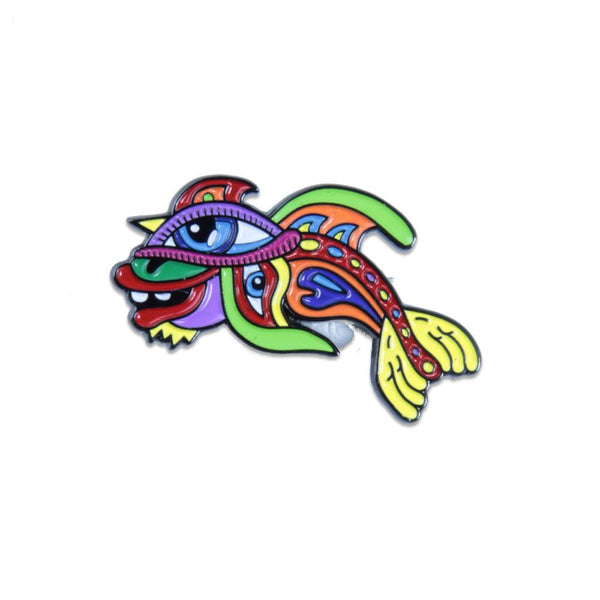 Chris Dyer Fish Pin - Grassroots California - 1