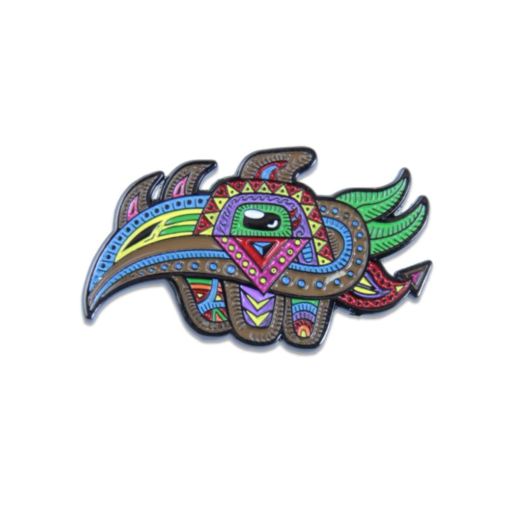 Chris Dyer Bird Pin