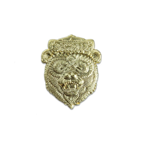 Chris Dyer 3D Gold Bear Pin - Grassroots California - 1