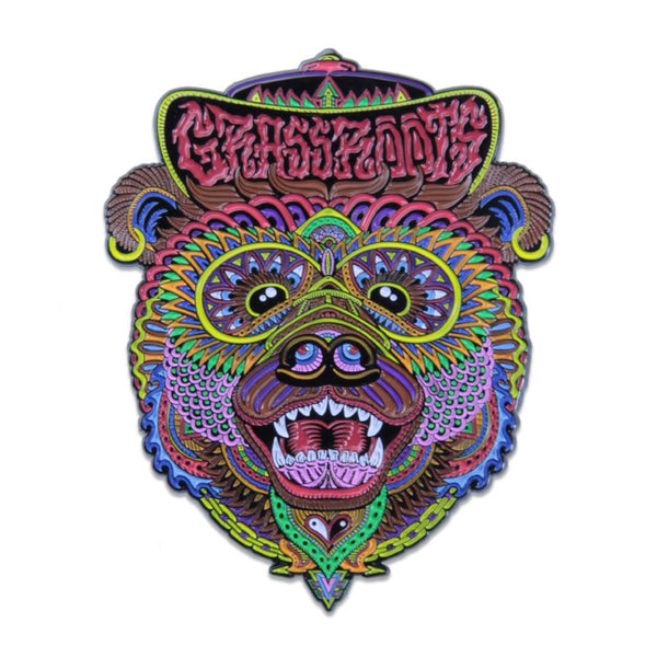 Chris Dyer OG Bear Pin - Grassroots California - 1