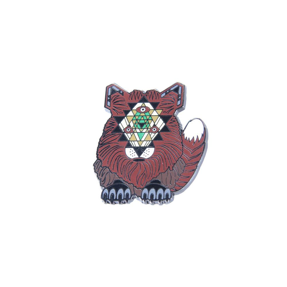 Rothbury Village Fox Pin