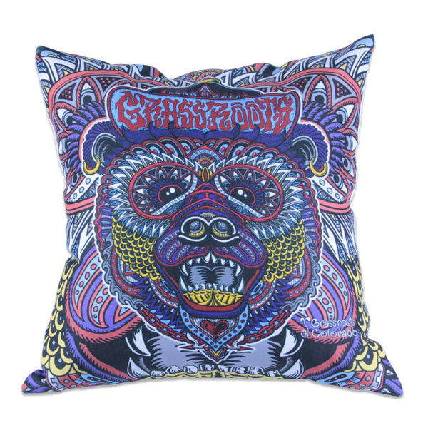 Chris Dyer Colorado Bear Throw Pillow - Grassroots California