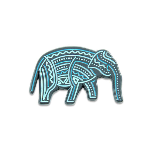 9th Anniversary Elephant Forest Pin