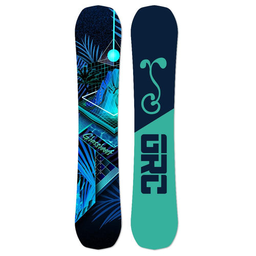 Never Summer x GRC 2019 Proto Type Two Blacklight Bomber Snowboard