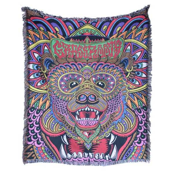 Chris Dyer Bear OG Blanket - Grassroots California
