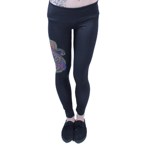 Chris Dyer Black Bear Leggings - Grassroots California - 2