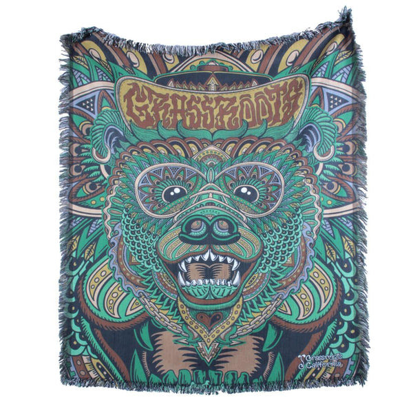 Chris Dyer Bear Forest Blanket - Grassroots California