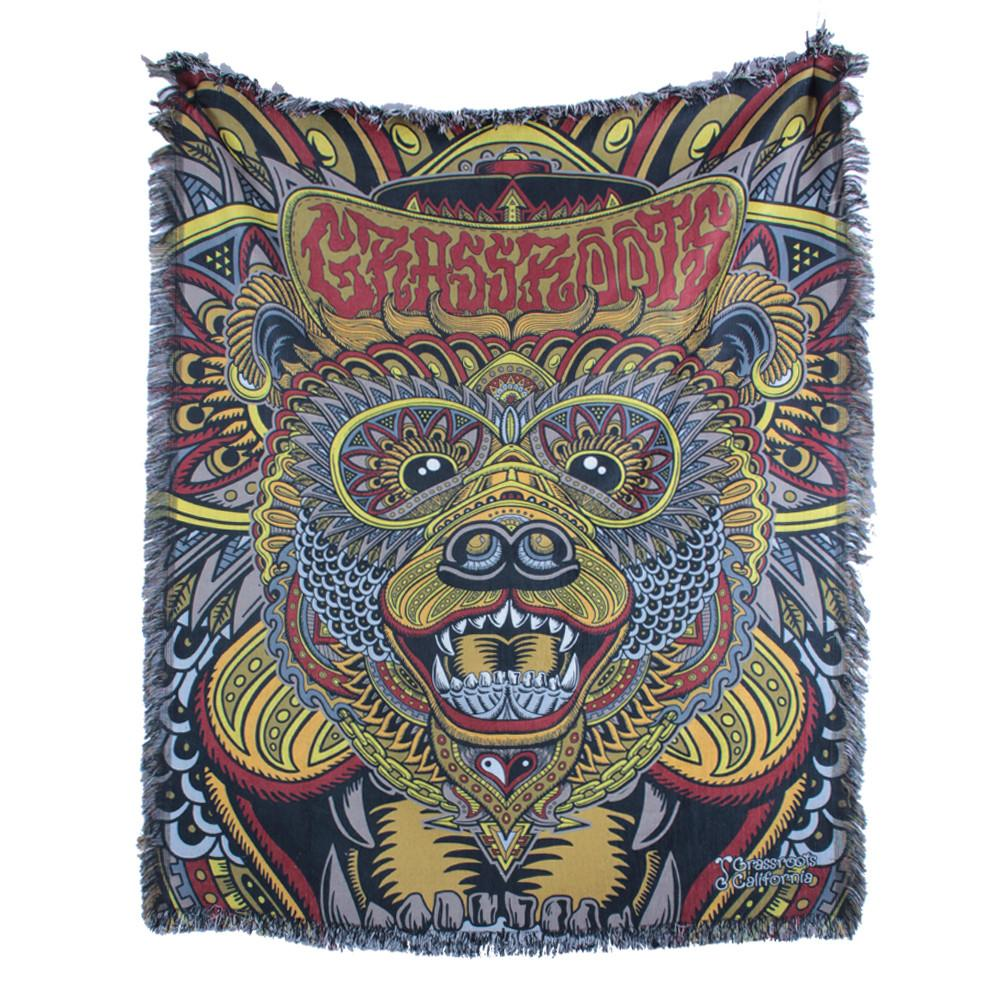 Chris Dyer Bear Regal Blanket