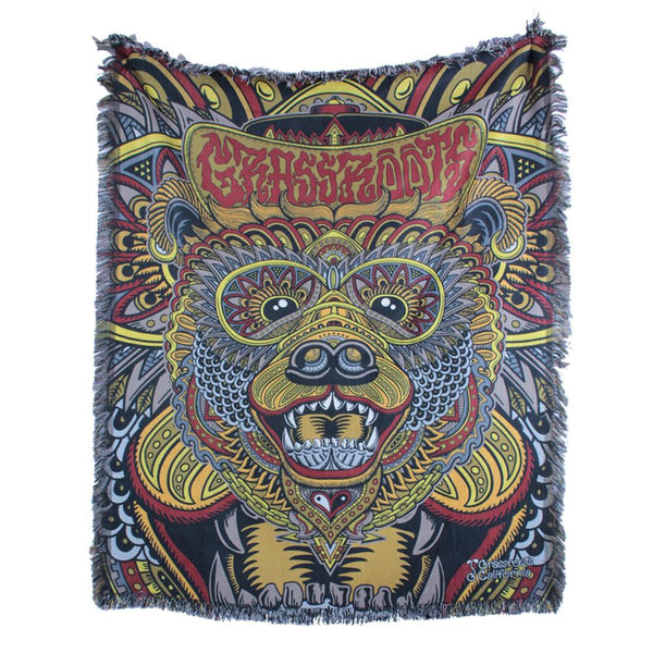 Chris Dyer Bear Regal Blanket - Grassroots California