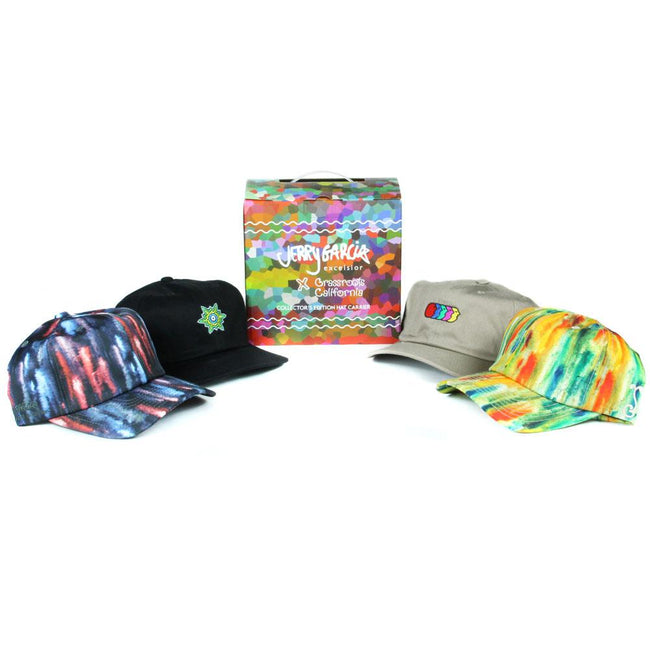 Jerry Garcia Dad Hat w/ Collectors Box