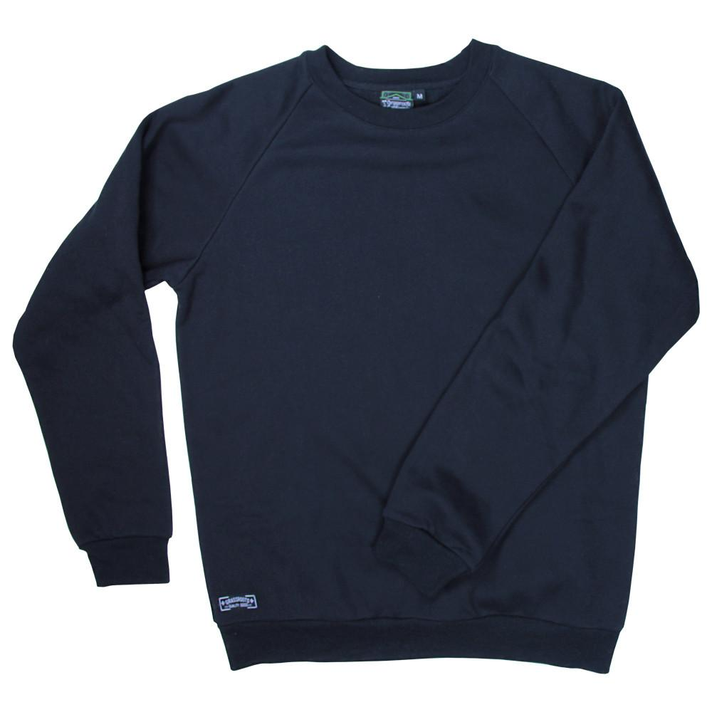 Touch of Class Black Crew Neck