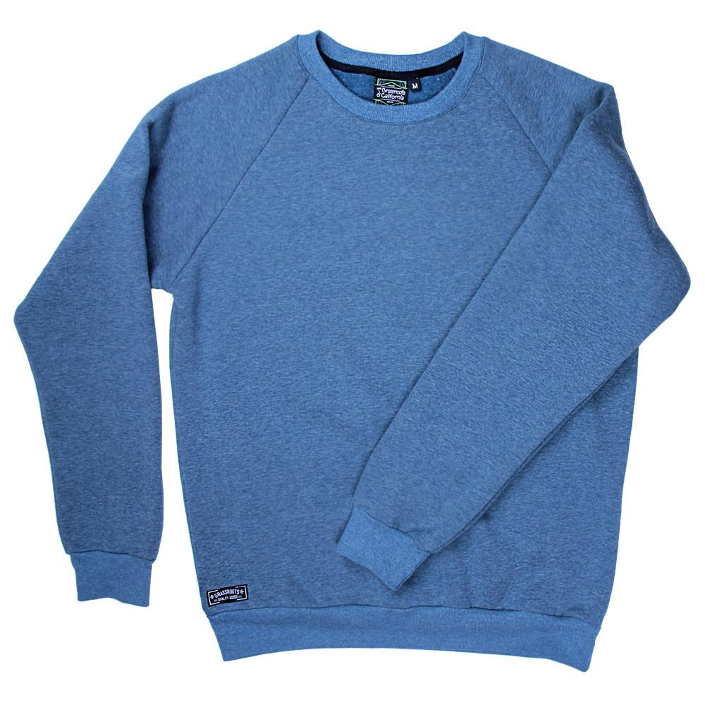 Touch of Class Blue Crew Neck - Grassroots California - 1