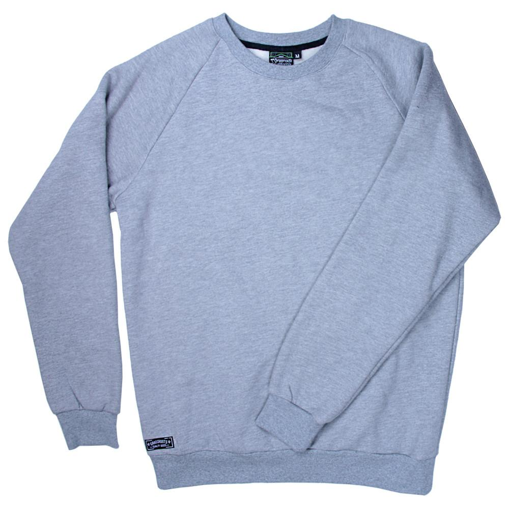 Touch of Class Gray Crew Neck