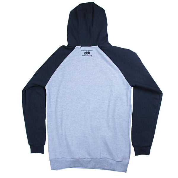Bear Collection Black White Wingtip Pullover Hoodie - Grassroots California - 2