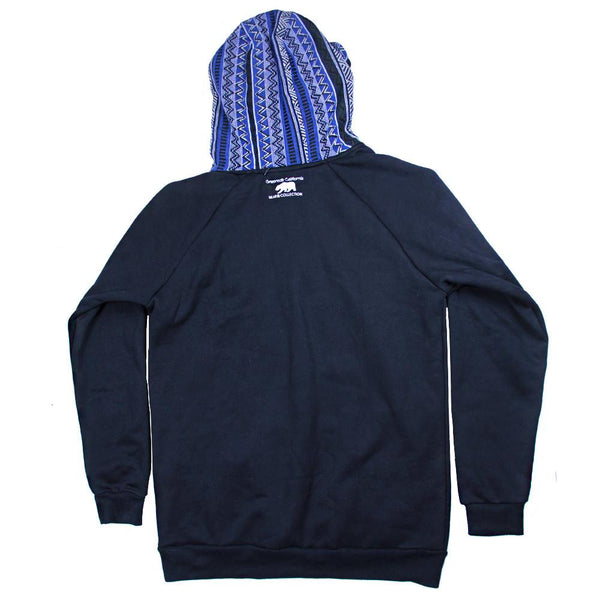 Bear Collection Parka Blue Pullover Hoodie - Grassroots California - 2