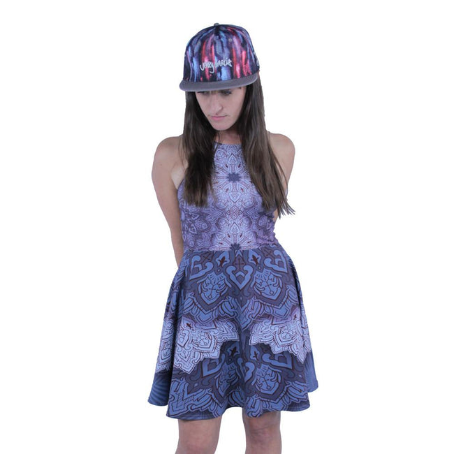 Cassady Bell Purple Mandala Dress - Grassroots California - 2