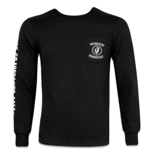 San Pedro Del Sol Black Long Sleeve Shirt