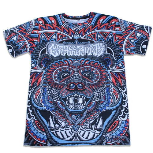 Chris Dyer Chicago Bear T Shirt - Grassroots California - 1