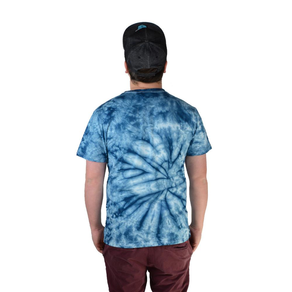 Bear Scout Blue Tie Dye T Shirt - Grassroots California - 2