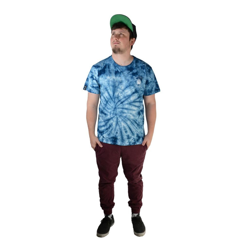 Bear Scout Blue Tie Dye T Shirt - Grassroots California - 3
