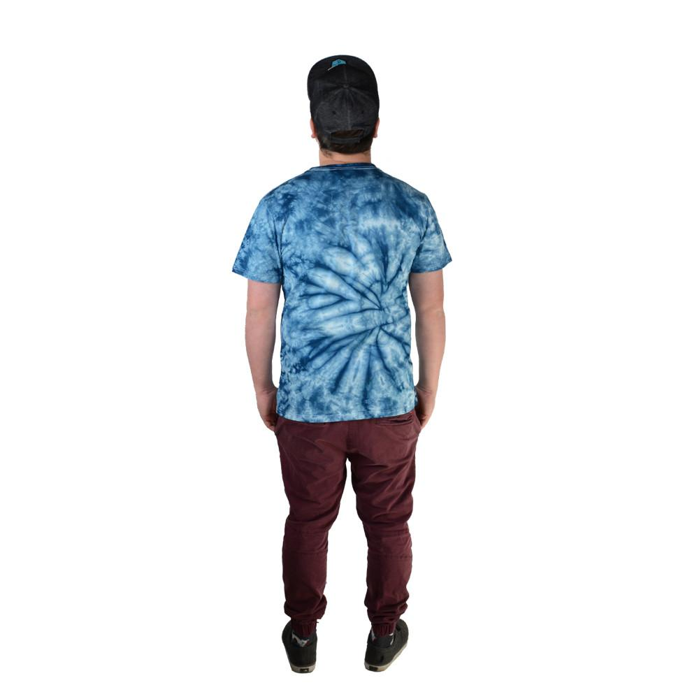 Bear Scout Blue Tie Dye T Shirt - Grassroots California - 4