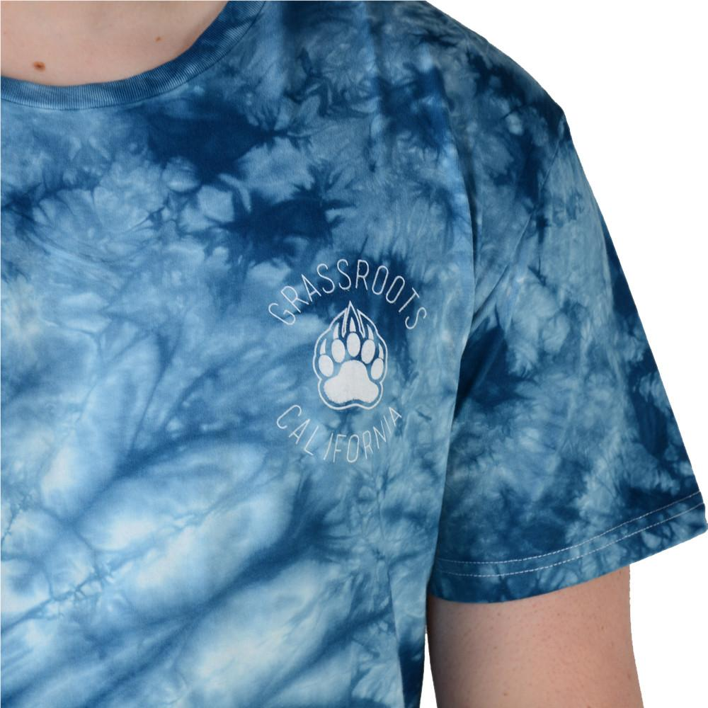 Bear Scout Blue Tie Dye T Shirt - Grassroots California - 5