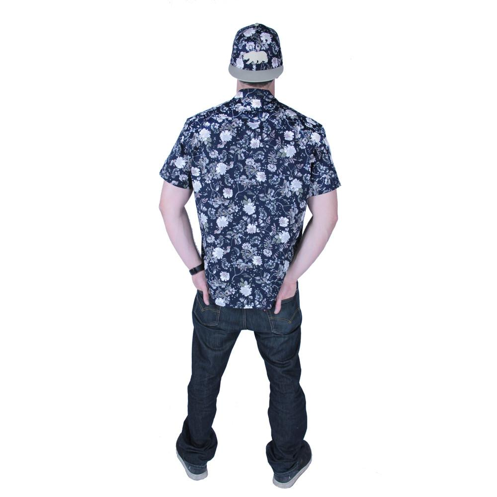 Vintage Floral Button Up Short Sleeve - Grassroots California - 4