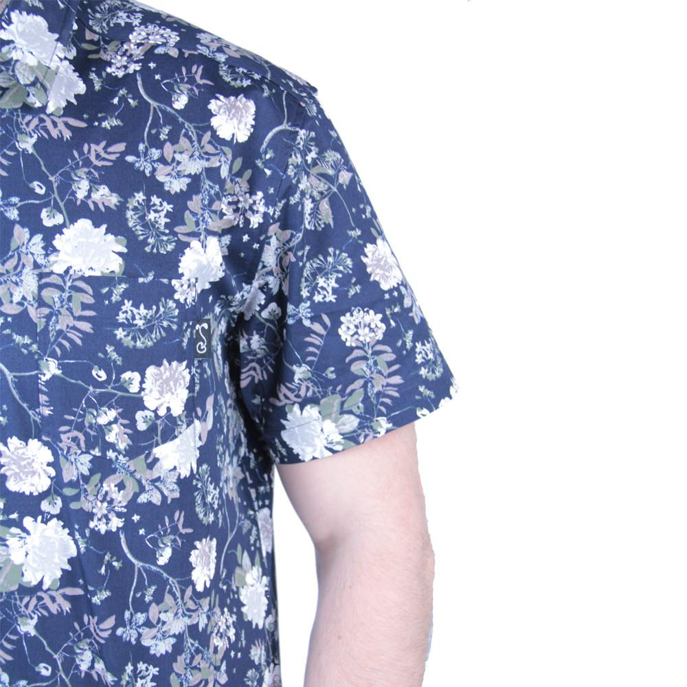 Vintage Floral Button Up Short Sleeve - Grassroots California - 6