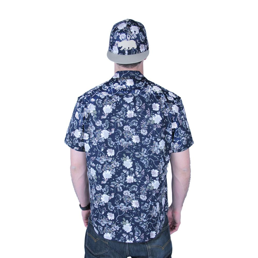 Vintage Floral Button Up Short Sleeve - Grassroots California - 5