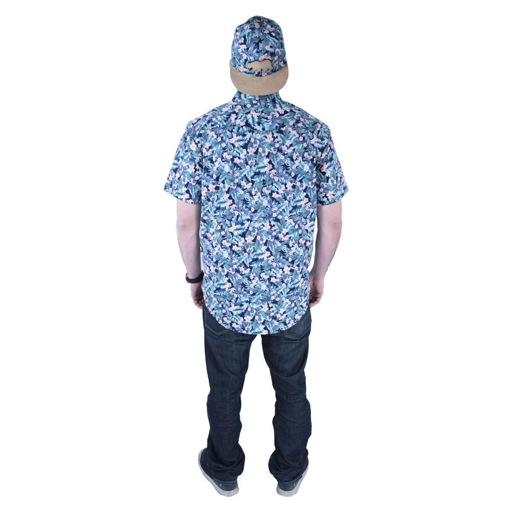 Water Flower Button Up Short Sleeve - Grassroots California - 4