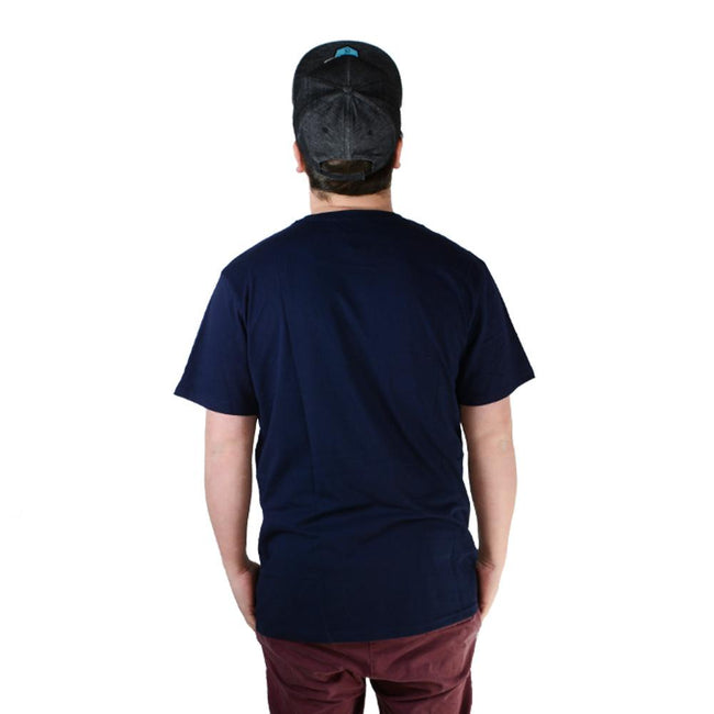 Blue Aztec Pocket T Shirt - Grassroots California - 2
