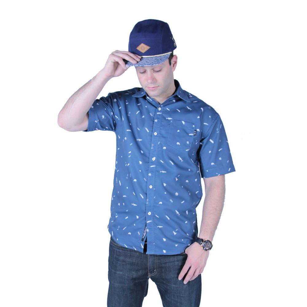 Bear Scout Navy Button Up Short Sleeve - Grassroots California - 2