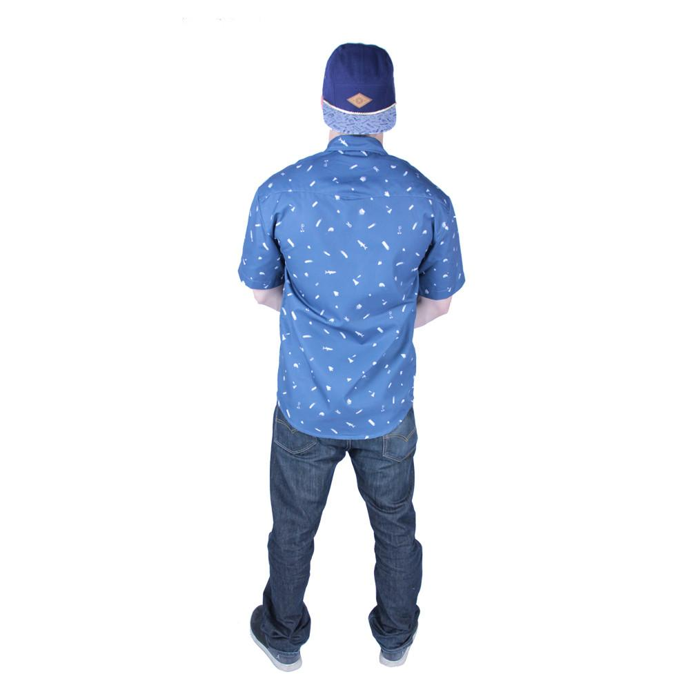 Bear Scout Navy Button Up Short Sleeve - Grassroots California - 4
