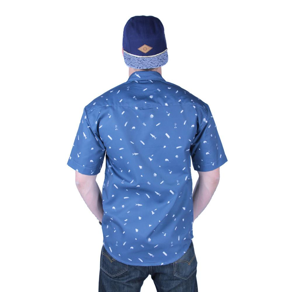 Bear Scout Navy Button Up Short Sleeve - Grassroots California - 5