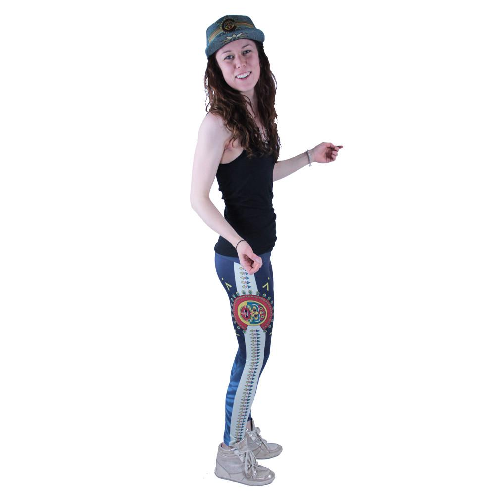 Strange Nature Colorado Aztec Leggings - Grassroots California - 3