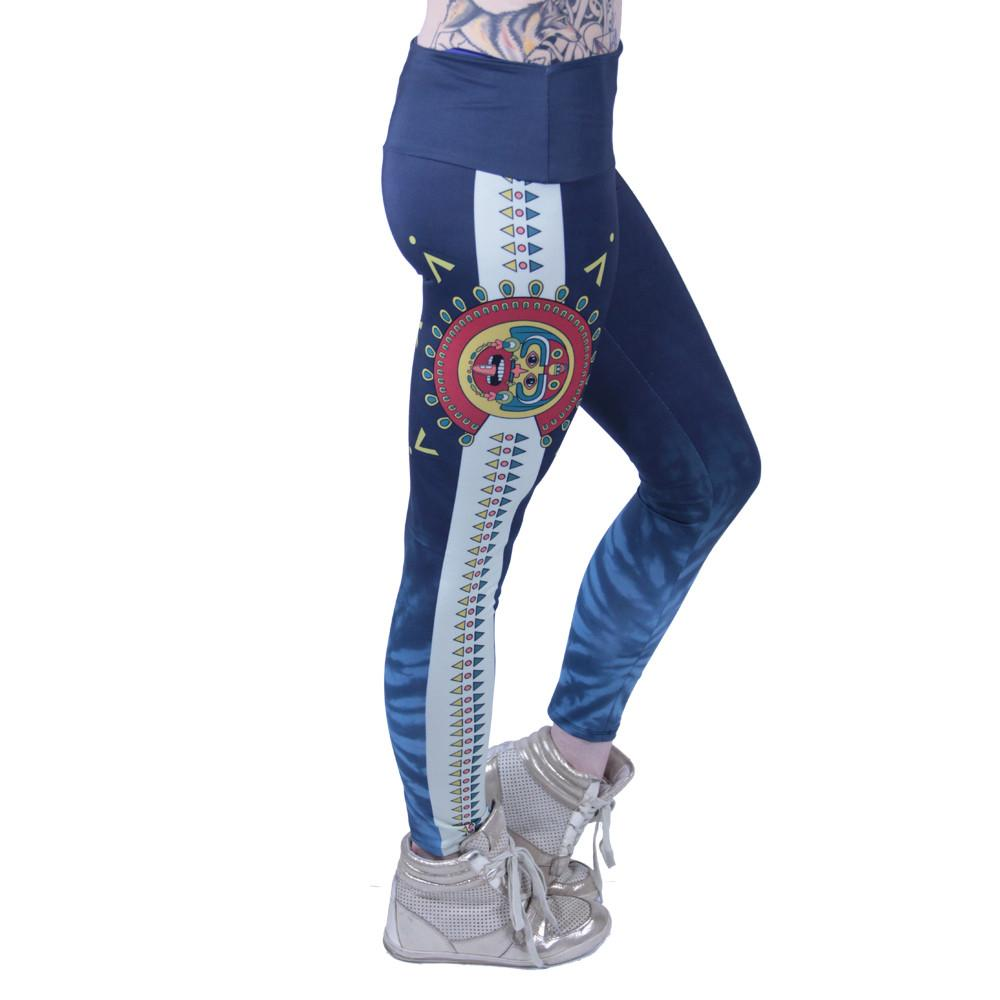 Strange Nature Colorado Aztec Leggings - Grassroots California - 4
