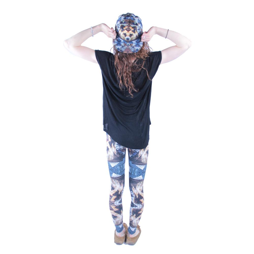 Psychedelic Bear Leggings - Grassroots California - 5
