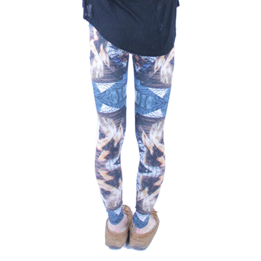 Psychedelic Bear Leggings - Grassroots California - 6