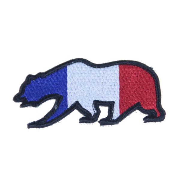 France Flag Bear Patch - Grassroots California