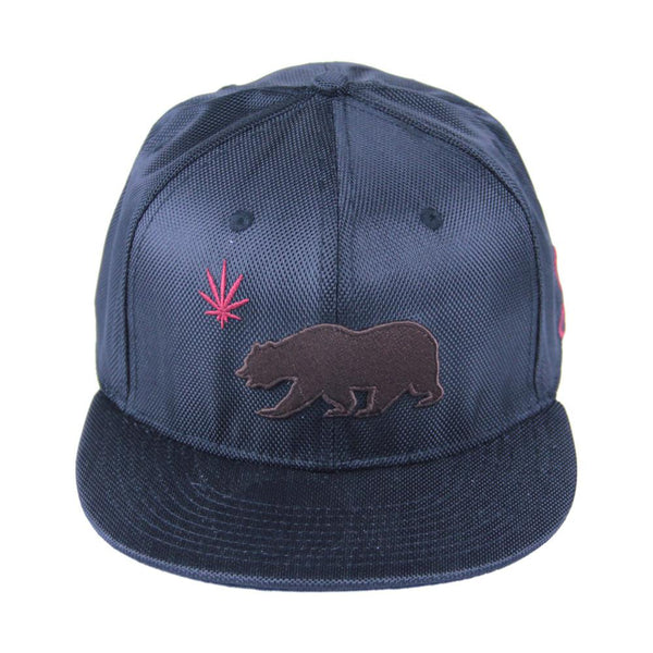 Cali Kush Black Ballistic Fitted - Grassroots California - 1