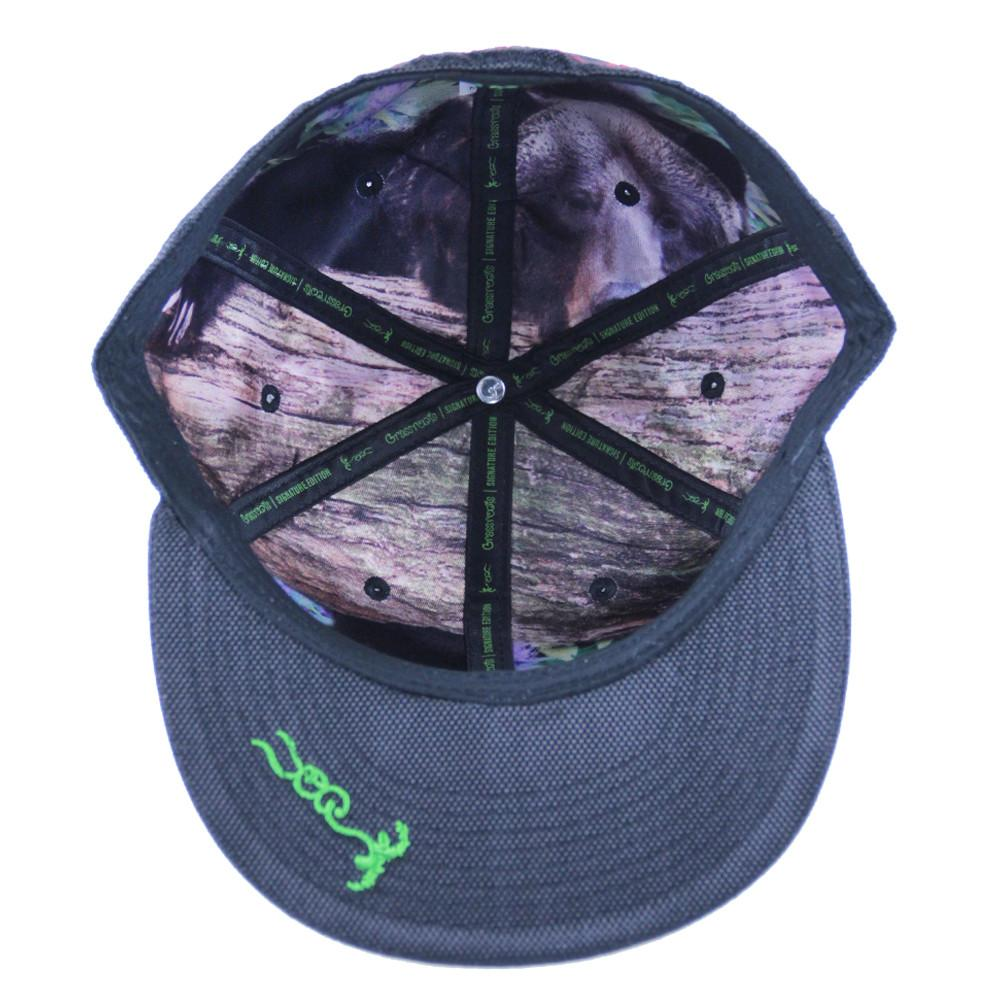 Cali Kush Black Ballistic Fitted - Grassroots California - 2